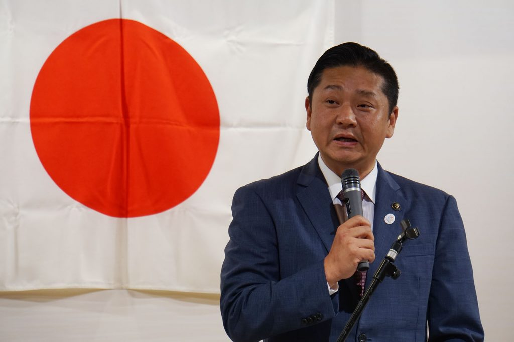 千代松泉佐野市長