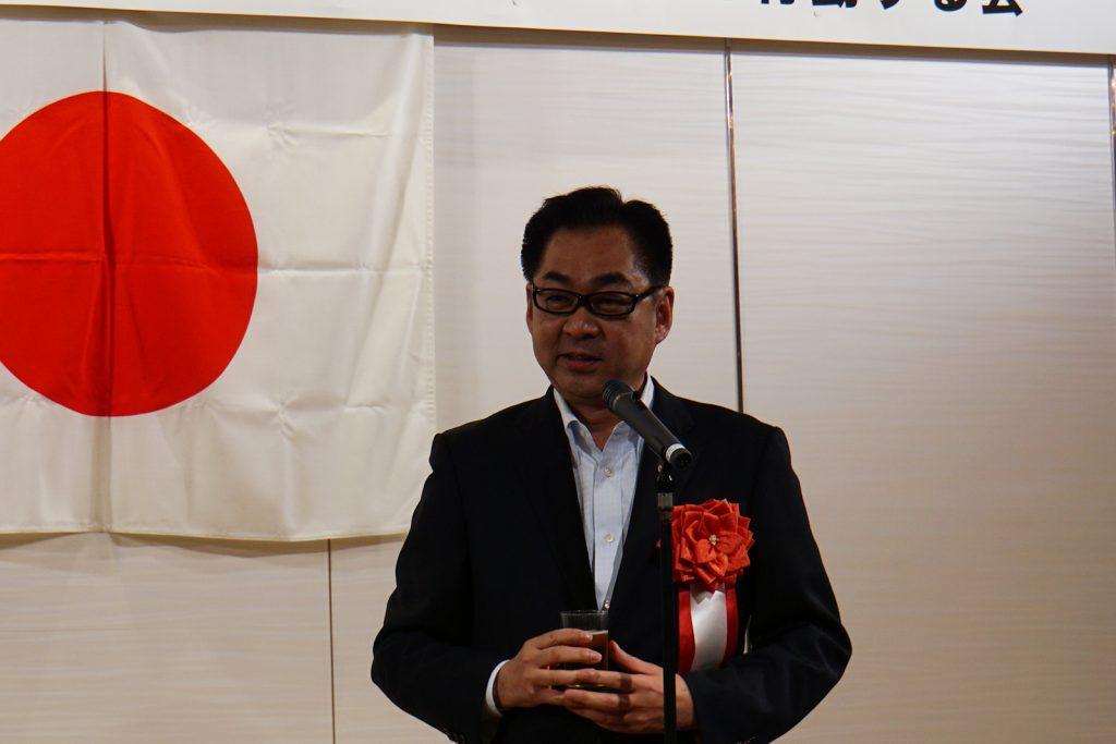 遠藤敬衆議院議員